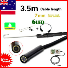 3.5M Waterproof Android Endoscope Borescope Snake Inspection Video Camera 7mm AE