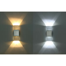 Lampara pared 6W Lampara cristal doble cabeza ahorro energia blanco calido pS1I8
