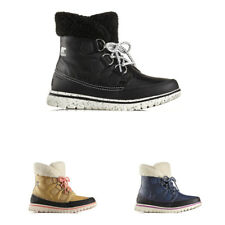 Womens Sorel Cozy Carnival Winter Walking Hiking Snow Casual Ankle Boots UK 3-9