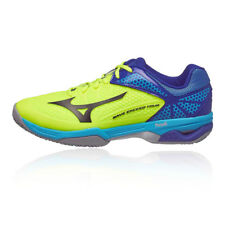 Mizuno Mens Wave Exceed Tour 2 Clay Court Tennis Shoes Blue Yellow Sports