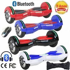 """6.5"""" Hoverboard Gyropode Self Balancing Scooter électrique Bluetooth +LED +Sacs"""
