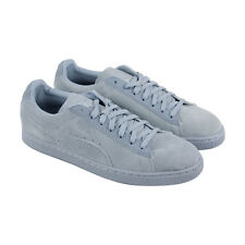 Puma Classic Tonal Mens Gray Suede Lace Up Sneakers Shoes