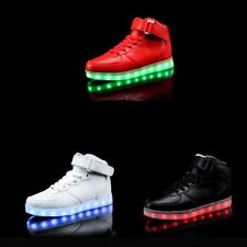 Fashion Led Luminous Sneakers USB Charging LED Light Shoes Popular Cool Shoes MY