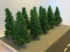10cm Green Christmas Trees Forest for OO Gauge Hornby Trainset Layout