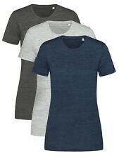 Active Intense Technical Womens Ladies Slim Fit GREY or BLUE Tee Shirt T-Shirt