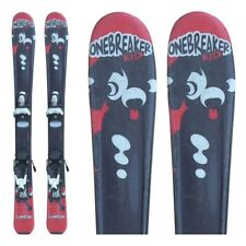 Ski occasion junior Wedze Onebreaker kids rouge + fixations