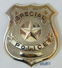 POLICEMAN WOMAN COP SPECIAL POLICE JUMBO BADGE PARTY FANCY DRESS ACCESSORY NEW