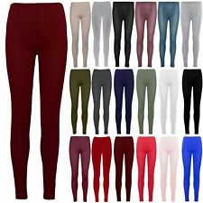 Womens Ladies Pants Crepe Ankle Full Length Skinny Fit Stretchy Trousers Legging