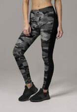 Urban Classics Ladies MIMETICI STRISCE Leggings in mimetico scuro von XS-XL