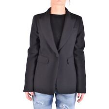bx33188 Twin-Set Simona Barbieri giacca nero donna black woman's jacket