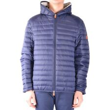 bx32947 Save The Duck giubbotto blu uomo blue man's jacket