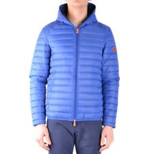 bx32945 Save The Duck giubbotto blu uomo blue man's jacket
