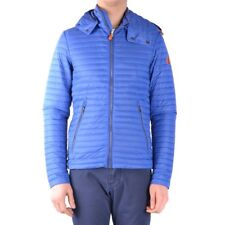 bx32943 Save The Duck giubbotto blu uomo blue man's jacket