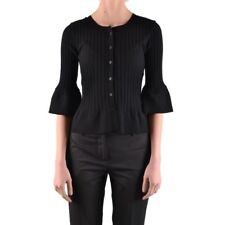 bx32815 Twin-Set Simona Barbieri cardigan nero donna black woman's cardigan