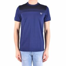 bx32399 Fred Perry t-shirt blu scuro uomo dark blue man's t-shirt
