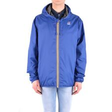 bx32302 K-Way giubbotto blu uomo blue man's jacket