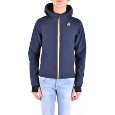 bx32301 K-Way giubbotto blu uomo blue man's jacket