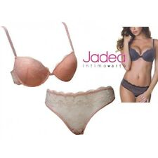 Coordinato Intimo Donna completo Jadea Push Up Slip Made in Italy Rosa 4623