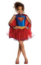 SUPERGIRL TUTU CHILD GIRLS TODDLER LICENSED FANCY DRESS SUPER HERO COSTUME