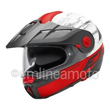 Casco Abatible Off-Road Schuberth E1 Crossfire Red