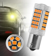 2PCS 12V 1156 BA15S P21W 66 LED 2835 SMD Car Reverse Turn Brake Tail Light Bulb
