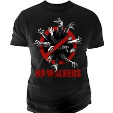 "PROMO - 15% THE WALKING DEAD T-Shirt ""No Walkers"" NEUF"