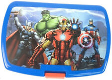 Avengers Kids Sandwich Lunch Snack Box And Sports Bottle Ideal For School/Sports