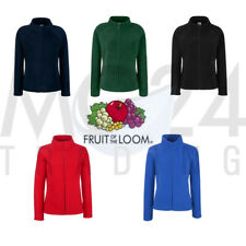 Fruit of the Loom Lady Fit Giacca in Pile Giacca di Pile Pullover in pile Top