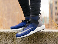 NIKE ZOOM MERCURIAL XI FK Flyknit Trainers Running Fashion Blue - Various Sizes