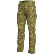 Pentagon ACU Combat Pants Military Tactical Airsoft Trousers Mens Grassman Camo