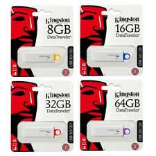PENDRIVE USB 3.0 KINGSTON CHIAVETTA 8 GB 16 GB 32 GB 64 GB MEMORIA DTIG4 Nuove