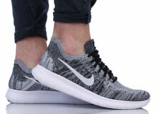 NIKE FREE RN FLYKNIT 2017 Running Trainers Run Gym Casual 'Oreo' - Various Sizes