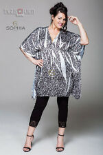 KNITTED WOMEN PLUS SIZES. SOPHIA. ARTICLE 12100