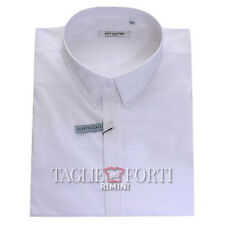 MAXFORT SHIRT PLUS SIZE MAN LONDON WHITE