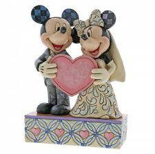 NEW Two Souls One Heart (Mickey & Minnie Mouse Figurine) - Disney Traditions