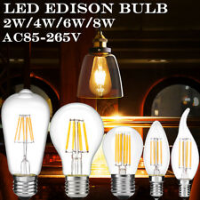 LED light LED Candle Light 2W/4W/6W/8W LED lamp Vintage LED Filament Light Bulb