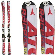 Ski occasion Atomic Race Gs 10 clair + Fixations
