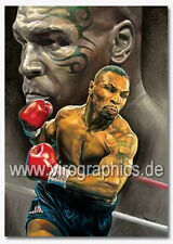 Poster Mike Tyson - Iron Mike - Boxen / Boxing - 50 x 70 cm - hochwertiger Druck