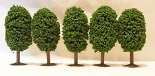Green Bush Evergreen 10cm tall  Trees for OO Gauge Hornby Trainset Layout