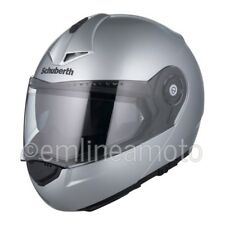 Casco Abatible Schuberth C3 PRO Plata