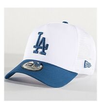 NEW ERA MLB LEAGUE ESSENTIAL TRUCKER CAP LOS ANGELES DODGERS LA GORRA 80581005