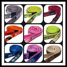 Rogz Dog LEAD Fabric Nylon - Choice of Colours and Sizes