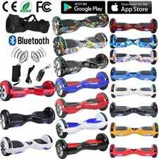 "6.5"" Scooter Eléctrico Patinete Self Balancing Monociclo con LED Bluetooth Mando"
