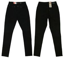 LEVIS Ladies Bold Curve Original Riveted Women Skinny Fit Denim Black