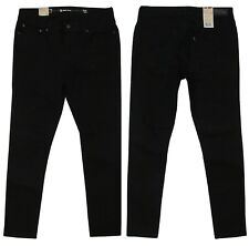 LEVIS Slight Curve Original Riveted Women Skinny Fit Jeans Pitch Black Denim