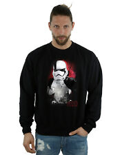 Star Wars Homme The Last Jedi Stormtrooper Brushed Sweat-Shirt