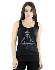 Harry Potter Femme Deathly Hallows Symbol Tank Top