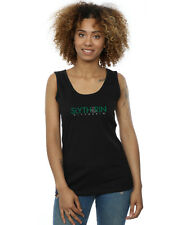 Harry Potter Femme Slytherin Text Tank Top