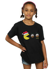 Pacman Fille Christmas Puddings T-Shirt
