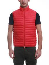 Gilet Save The Duck rosso D8241M-GIGA6 00024